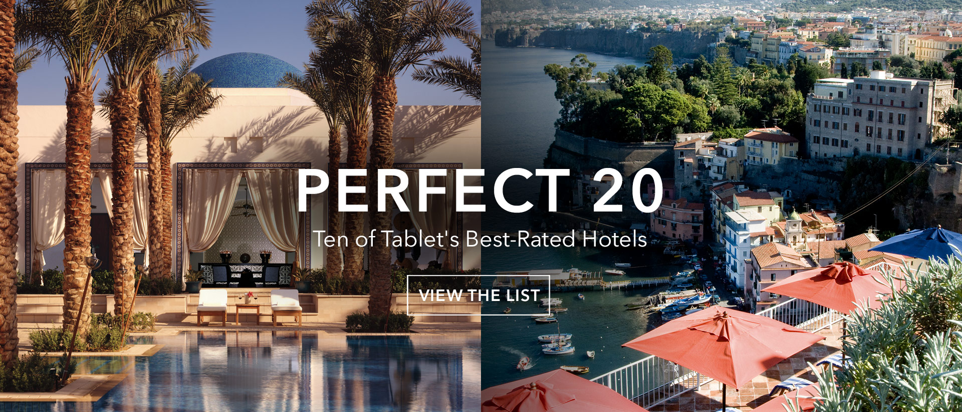 Ten of Tablet's Best-Rated Hotels