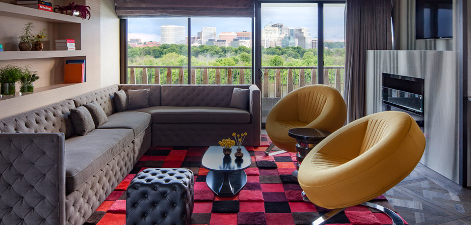 The Watergate Hotel - design boutique Hotel in Washington D.C.