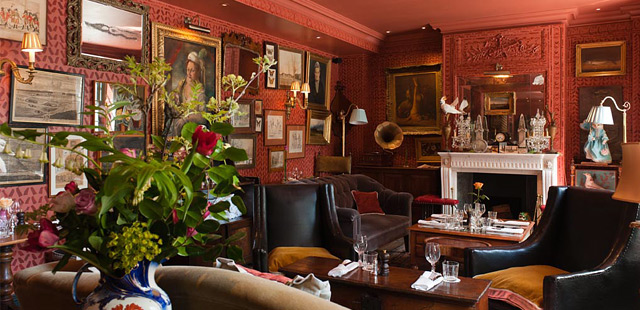 The zetter townhouse london luxury hotel reviews deals for Dining room zetter townhouse