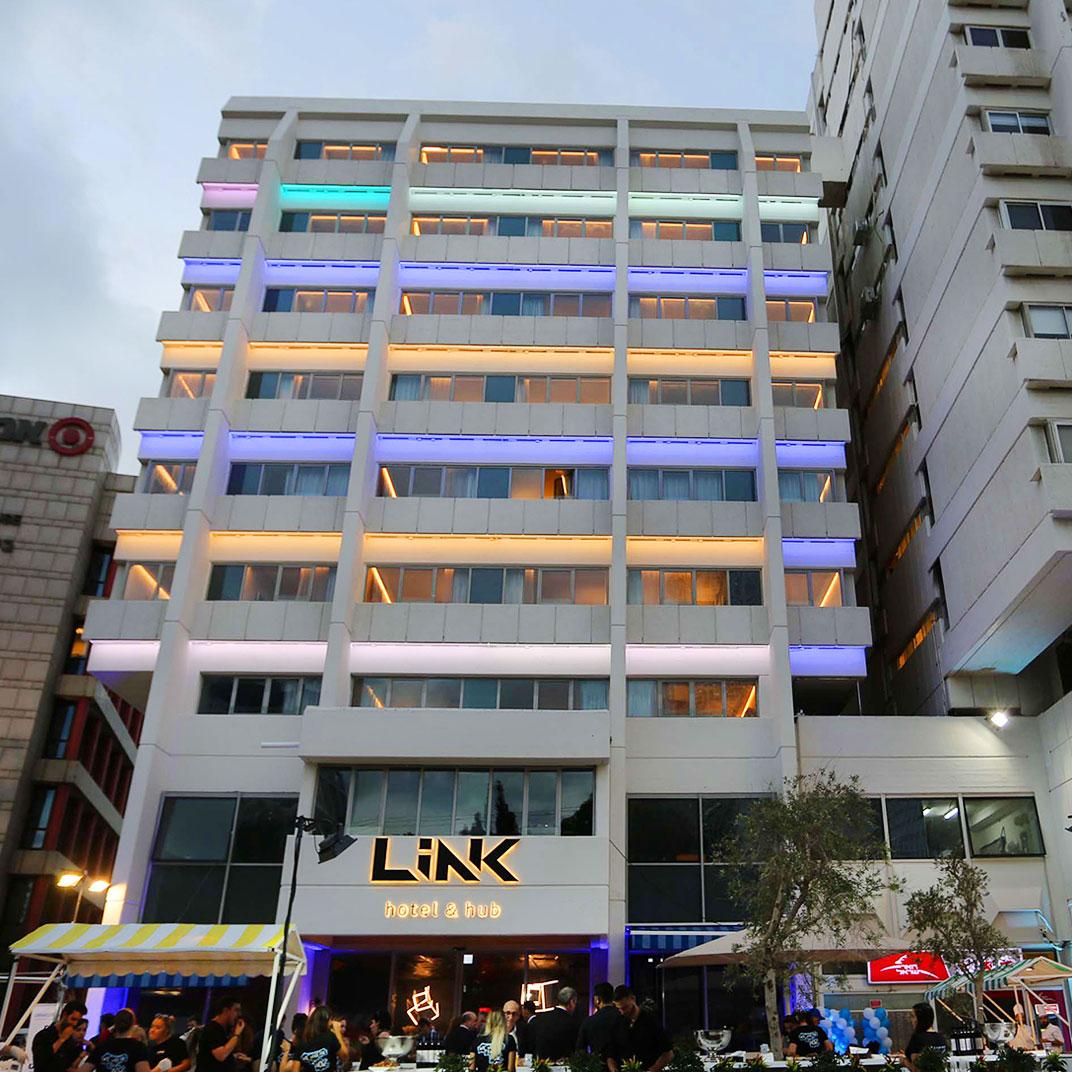 Link hotel & Hub Tel Aviv