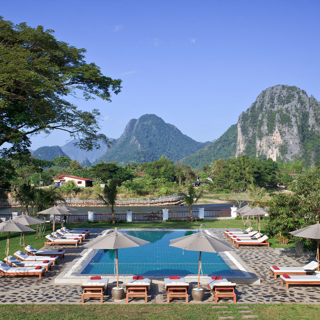 Riverside Boutique Resort, Vang Vieng